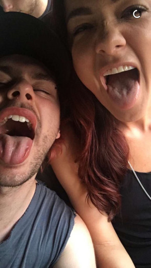 Michael with Crystal Leigh