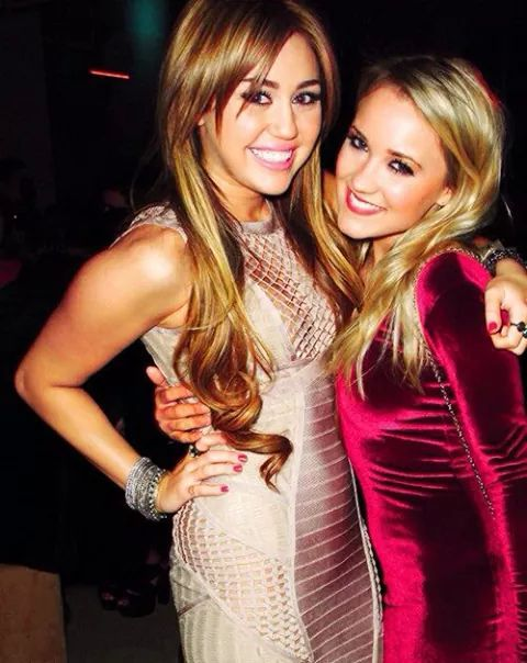 Miley Cyrus and Emily Osment - Miley Cyrus and Emily