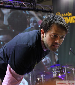 Misha at Comic Con Russia