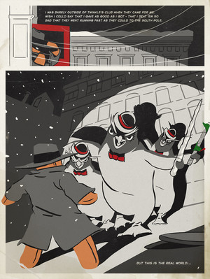 Northpole Noir: Page 6