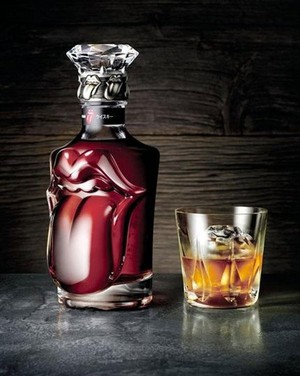 ROLLING STONES WHISKY BOTTLE