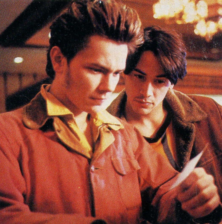 River Phoenix as Mike Waters in My Own Private Idaho
