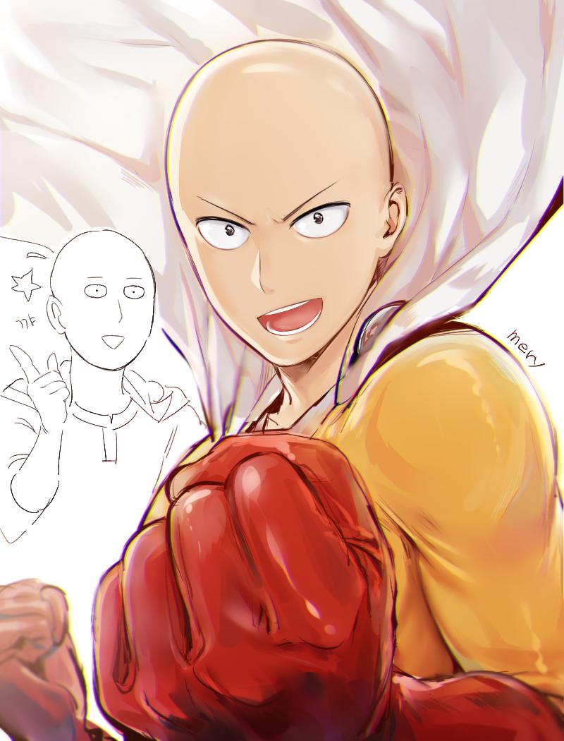 Saitama - One Punch Man Fan Art (39103722) - Fanpop