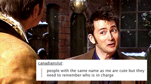 Tenth Doctor - Text Posts