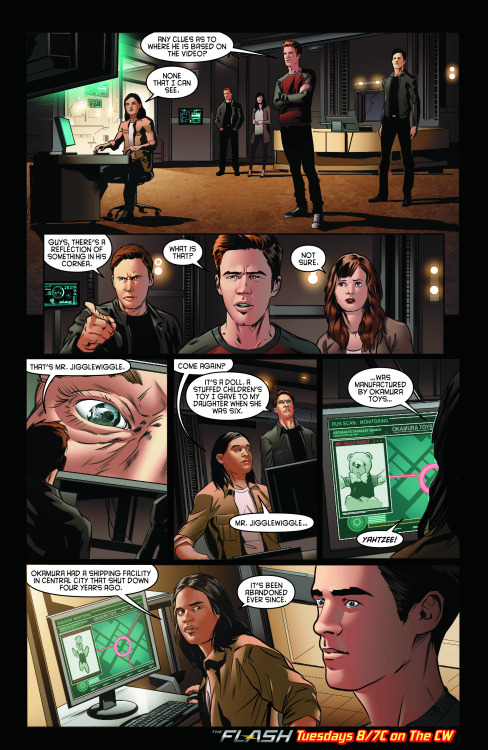 The Flash - Episode 2.09 - Running to Stand Still - Comic Preview