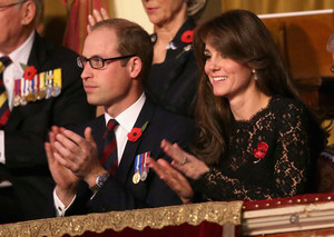 The Royal Family Attends the Annual Festival of Remembrance