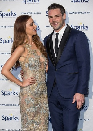 Una and Ben attended the Sparks charity ball