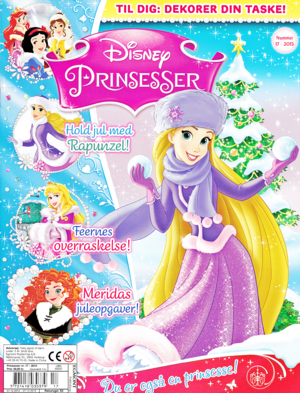 Walt Disney Magazines - Disney Princesses: Issue 17 (2015)