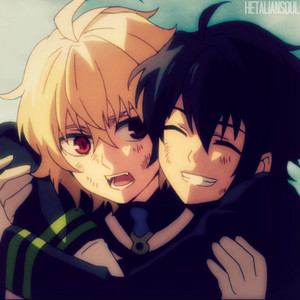 Anime edit #76 - Yuu and Mika