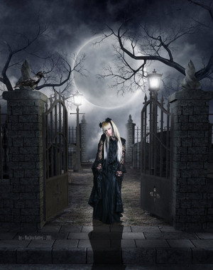 goth art door dl120471 d4jg5ew
