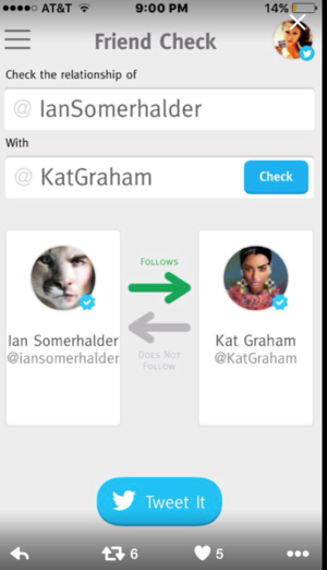 kat unfollowed ian