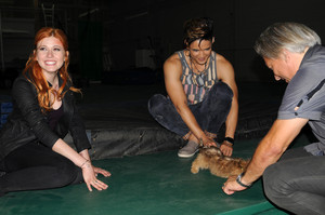'Shadowhunters' 1x06 Of Men and angeli (behind the scenes)