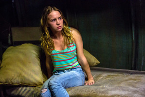 Britt Robertson as Angie McAlister in Under the Dome