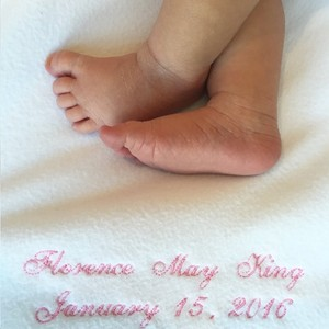 Candice Accola's Baby Daughter Florence May First Picture