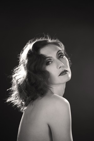 Carice van Houten - Greta Garbo Biopic photoshoot
