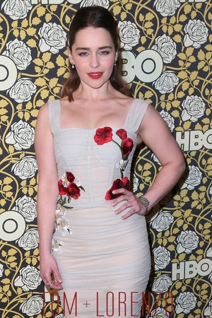 Emilia Clarke GG 2016 After Party