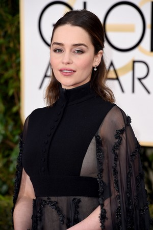 Emilia at the Golden Globes 2016