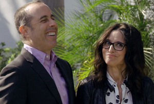 Jerry Seinfeld and Julia Louis Dreyfus