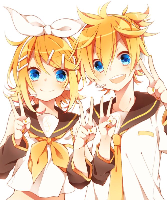 Kagamine Rin and Len - Len Kagamine photo (39270001) - fanpop