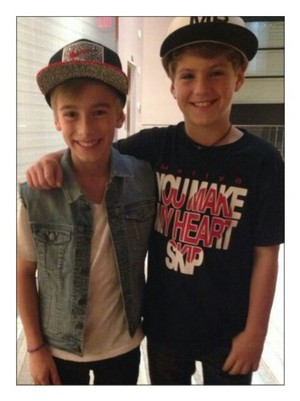 Mattyb and Johnny Orlando