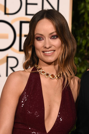 Olivia Wilde @ the 2016 Golden Globes
