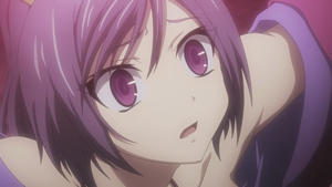 Purple Haired Chick from Seisen Cerberus