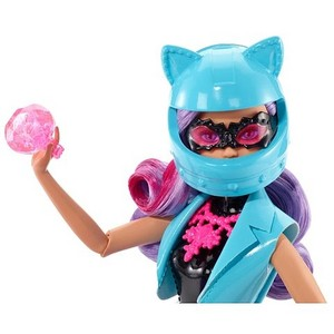 Spy Squad Motorcycle and Cat Burglar doll