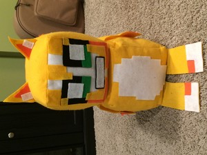 Stampy stuffed animal