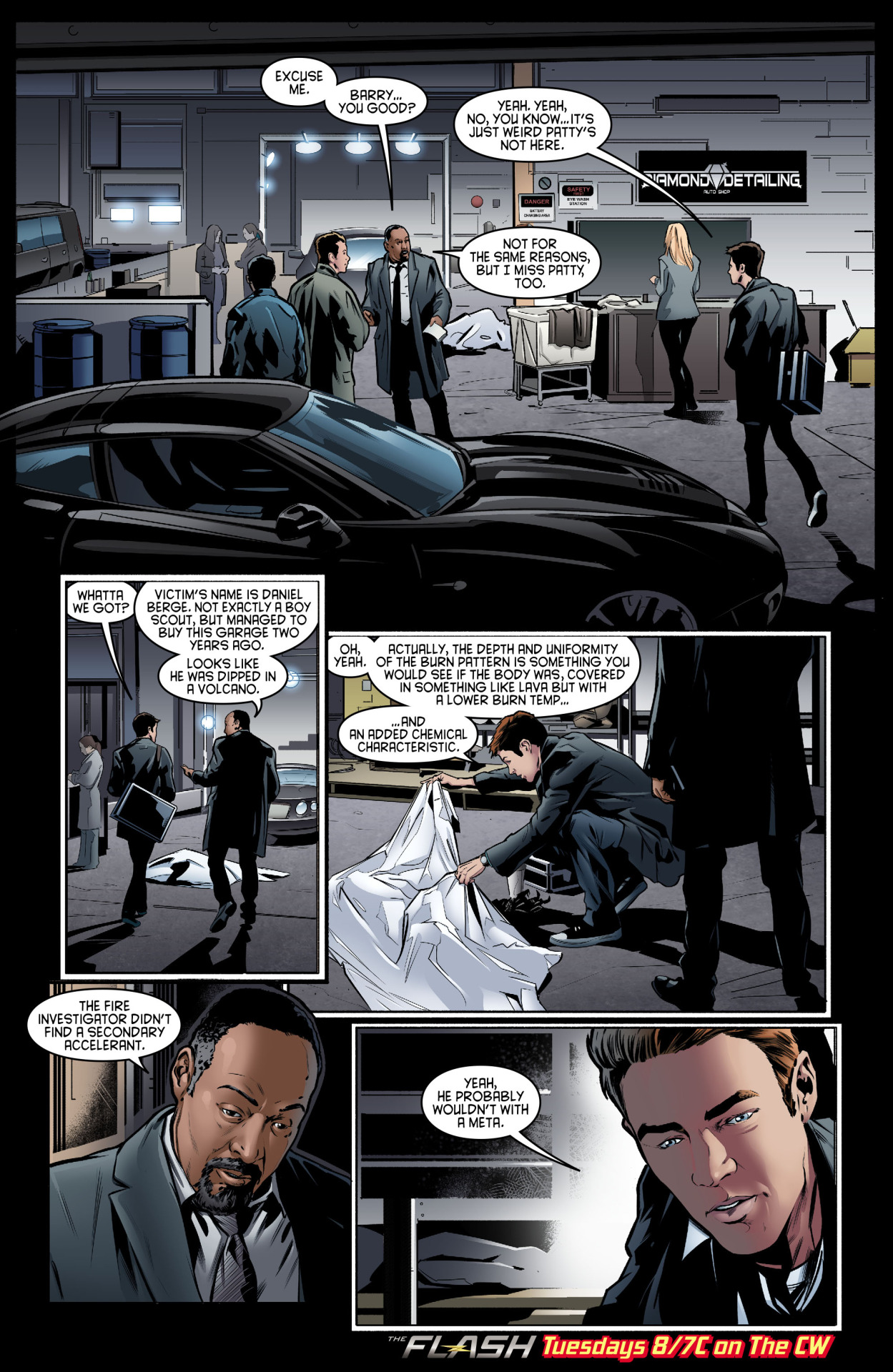 The Flash - Episode 2.12 - Fast Lane - Comic Preview