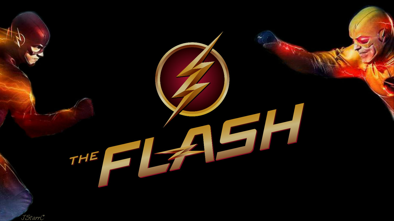 The Flash Vs Reverse Flash The Flash Cw Wallpaper 39256806
