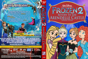 Walt Disney Pictures Presents Frozen 2 Return To The Arendelle istana, castle Spring Fever (2001) DVD