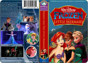 A Walt disney Masterpiece frozen And The Little Mermaid (1999) On VHS