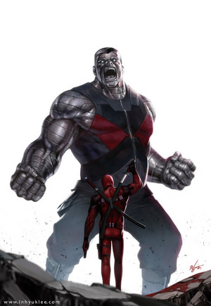 Colossus vs Deadpool