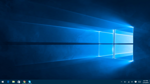 Default Windows 10 Desktop
