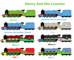 Henry And His Liveries