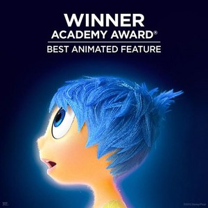 Inside Out - Winner of Academy Award's Best Animated Feature