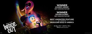 Inside Out - Winner of Awards' Best Animated Feature