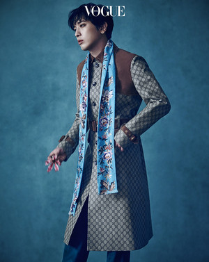 JUNG YONGHWA FOR VOGUE KOREA