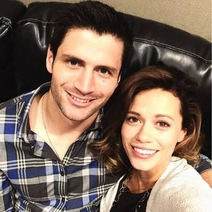James Lafferty and Bethany Joy Lenz// OTH Convention 2016
