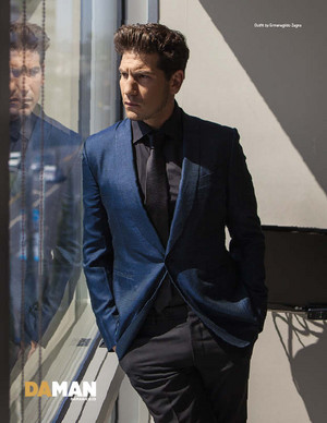 Jon Bernthal - DaMan Photoshoot - 2014