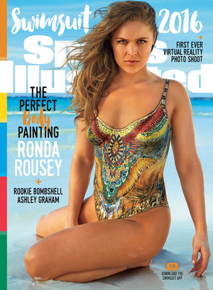 Ronda Rousey - Sports Illustrated swimsuit Issue Cover - 2016