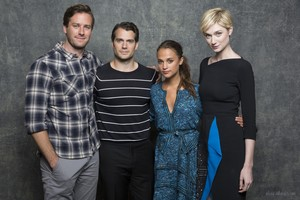 San Diego Comic-Con: 'The Man from U.N.C.L.E.' Portraits