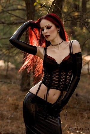 Sexy Goth Girl ANITA JOY
