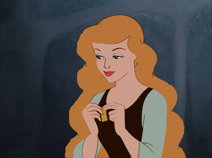 Cenerentola with long hair