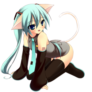 miku kitty 4