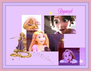 Rapunzel collage/ تصویر montage