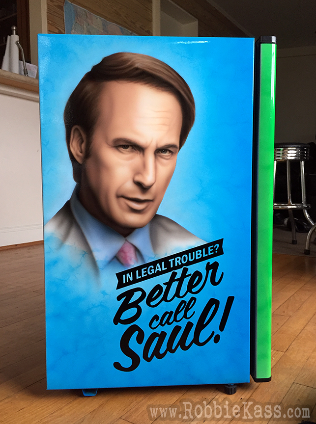 Better call Saul mini fridge