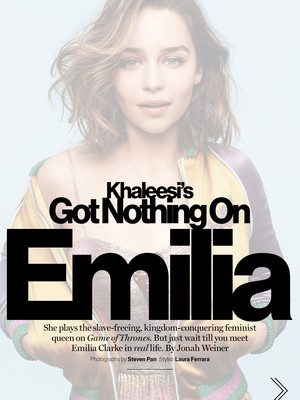 Emilia for Glamour US