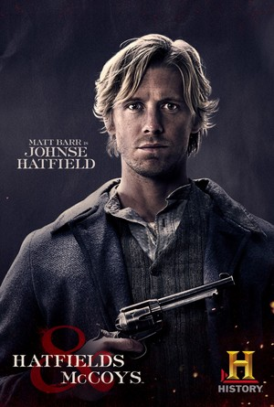 Hatfields and McCoys Poster: Johnse Hatfield