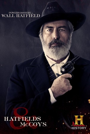 Hatfields and McCoys Poster: Judge Valentine 'Wall' Hatfield